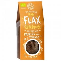 Diet-Food Raw Flax Crackers...