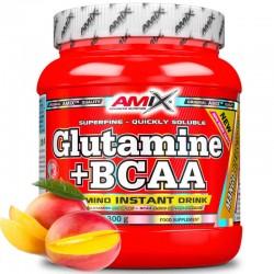 Amix Glutamina + BCAA Mango...